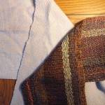 Larye's aviator scarf and one of 5 chenille scarves using same tie-on