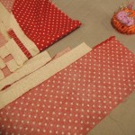 Border strip sets sewn to quilt body