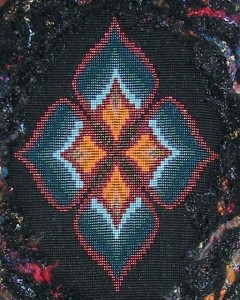 Revelation...close-up of bead loomed work