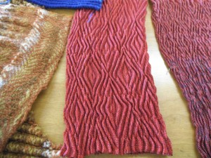 Woven shibori Instructor's samples