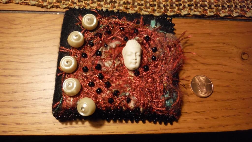 Buddha Needle Case