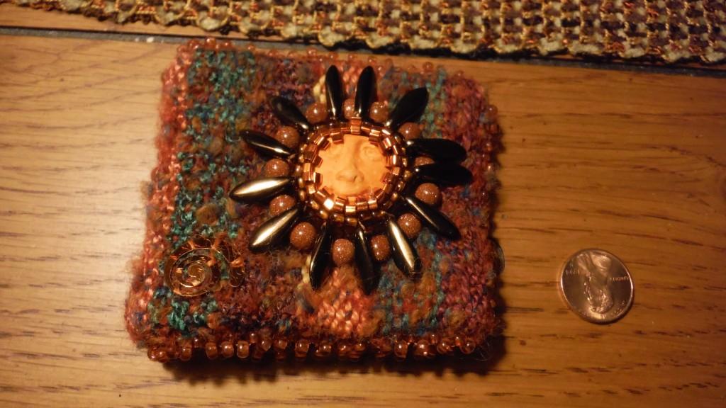 Hand Woven Sun Needle Case